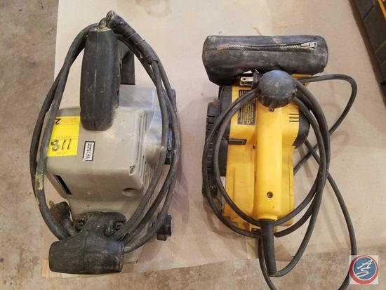 {{2XBID}} DeWalt Electronic Belt Sander Model #200221-10, Porter Cable Whisper Series 3 x 24 Model