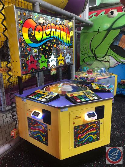Colorama Arcade Game CR2818 Equipped w/ Embed System Card Reader Scanner; Does NOT Have the Original