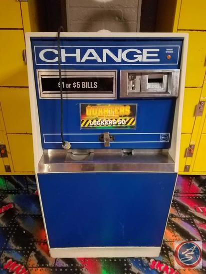 Crowe High Capacity Change Machine BC-3500 with (3) Coin Hoppers