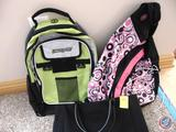Sling Back Pack by Pro Sport, Urban Sport Backpack and a Carry Tote