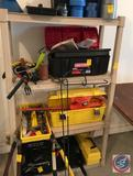 Sterilite Shelving System, Contents Not Included