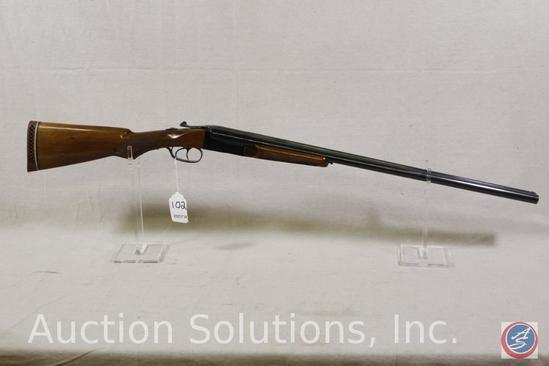 Amadeo Rossi SR Model S x S 12 GA Shotgun S X S Shotgun chambered for 3 inch shells in soft case.