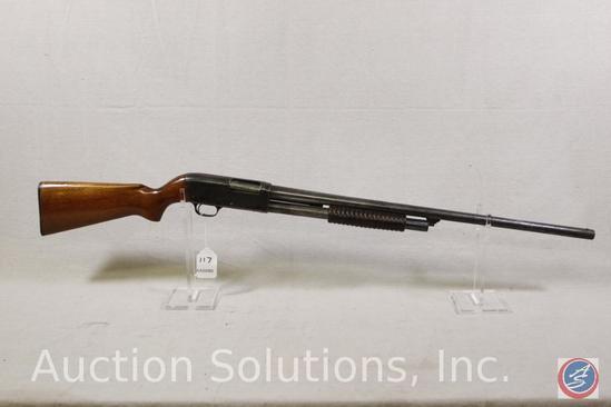 HSBCO Model Break Action 12 GA Shotgun Chicago made single shot in fair condition Ser # NSN-56