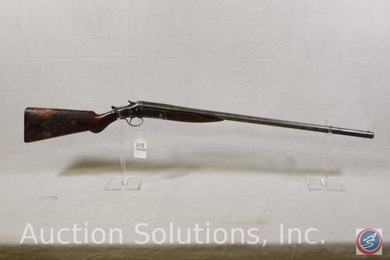 Stevens Model 820 12 GA Shotgun PUMP action shotgun in fair condition, some pitting on barrel Ser #