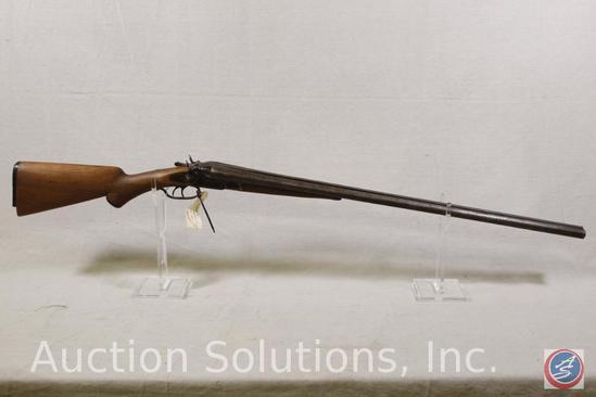 A J Aubrey-Meridian Firearms Co. Model S x S 12 GA Shotgun Double Barrel Exposed Hammer Shotgun with