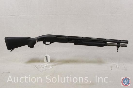 REMINGTON Model Express magnum 20 GA Shotgun 18 1/2 in. barrel extended magazine self defense