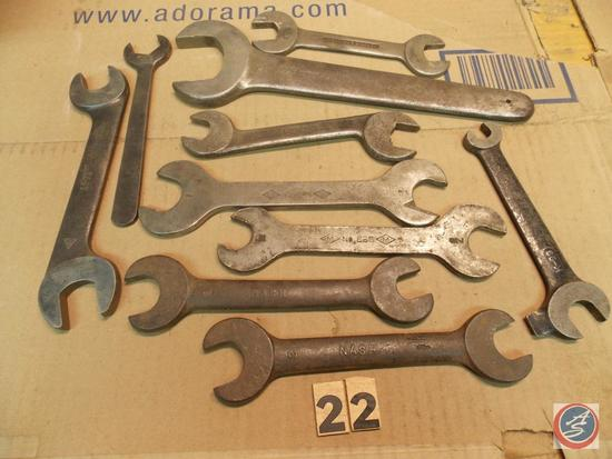 (10) Miscellaneous Wrenches including brands Champion - Williams - Check Nut - Nash - Mossberg