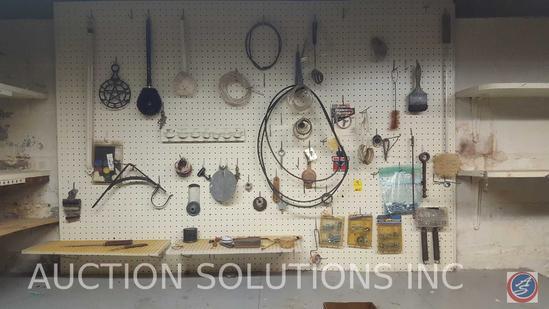 Star Iron Brand, Brackets, Screws, Dryer Belts, Vintage Safety Goggles, Shelving Brackets, More