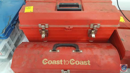 Coast to Coast Tool Box {{CONTENTS INCLUDED}}, Tuff Box Tool Box {{CONTENTS INCLUDED}}