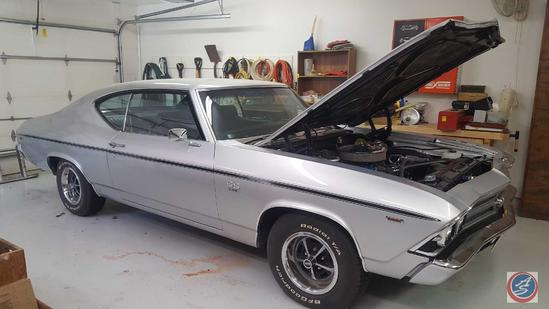 1969 Chevy Chevelle SS 396 Big Block Turbo Jet Engine Automatic Transmission BF Goodrich Radial TA