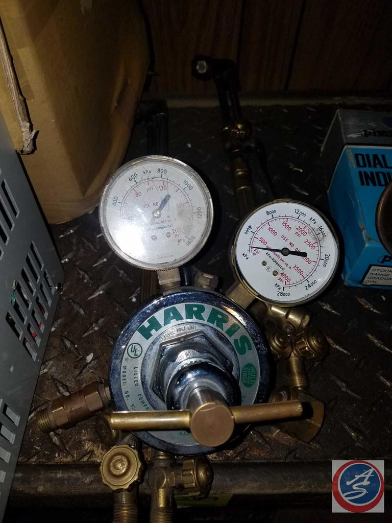 Harris Listed Compressed Gas Regulator 650L