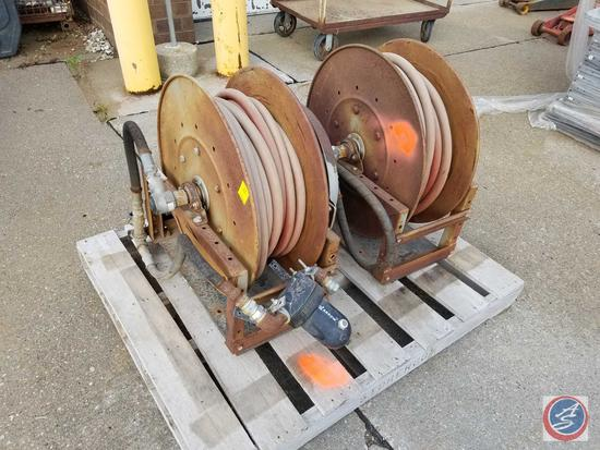 {{2X$BID}} Hannay 800 series air hose Reel Model 820-25-26A SR
