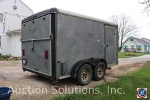 Wells Fargo 12 ft. Enclosed Trailer Has Title
