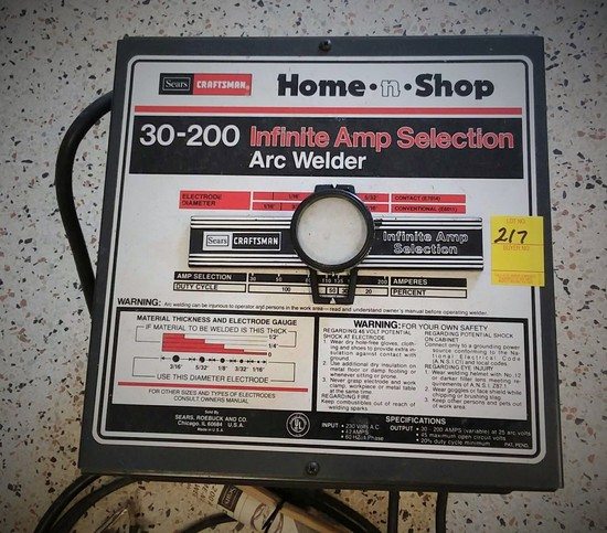 DAMEWOOD AIR TOOLS AND MORE ONLINE AUCTION