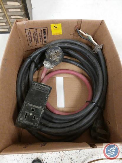 20A 250V Angle Plug Extension Cord