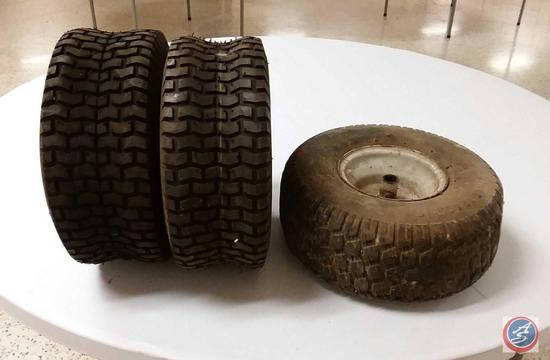 (3) Nanco 15x 6.00-6 Tires