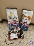 (3) 18 Lb. Bags of Kingsford Charcoal, (4) Bottles of Lighter Fluid, Electric Charcoal Grill Lighter