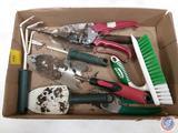Hand Held Gardening Tools, Scrub Brush
