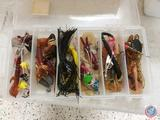 Assorted Fishing Lures, The Sidekick in Original Box