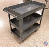 Three Tier Metal Utility Cart