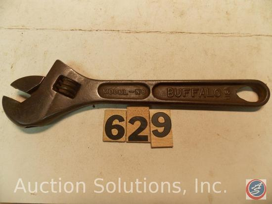 Crescent Wrench 8 in. marked 'Model N8 Buffalo Barcalo' - Model N8