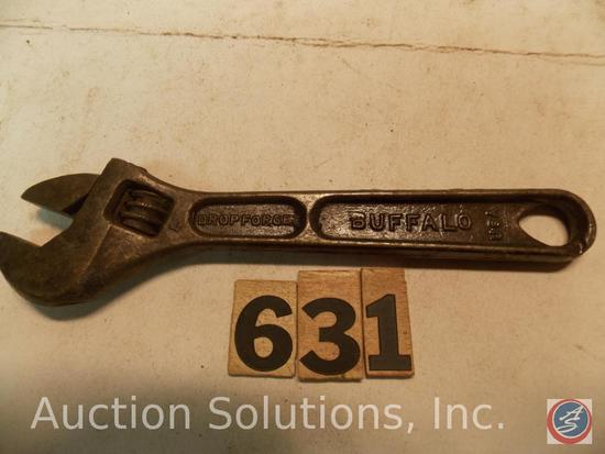 Crescent Wrench 6 in. marked 'Model N6 Barcalo Buffalo'