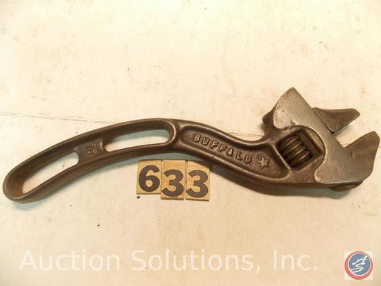 Crescent Wrench 10 in. marked 'Buffalo Barcalo'