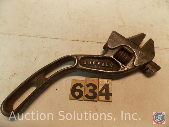 Crescent Wrench 8 in. marked 'Buffalo Barcalo'