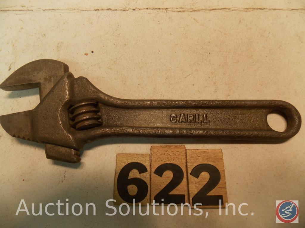 Crescent Wrench 6 in. marked 'CARLL'