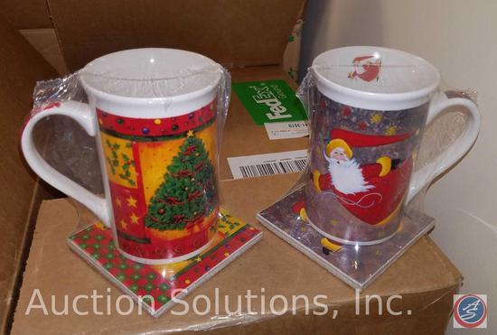 Christmas Mugs, Christmas Decorations
