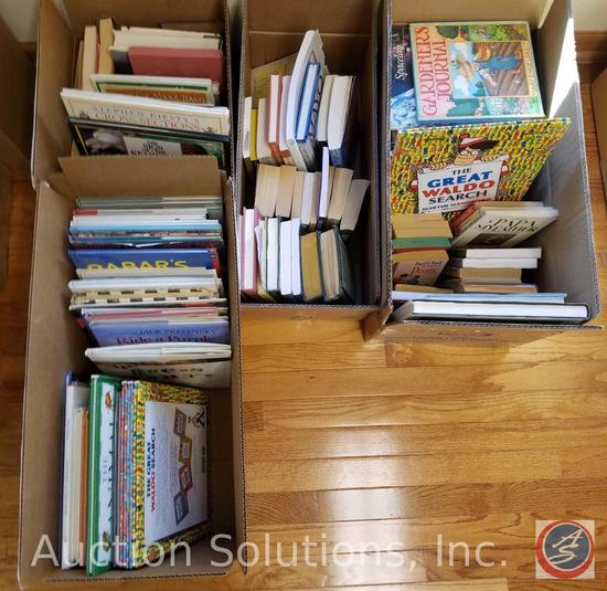 """Books Incl. """"The Great Where's Waldo"""", """"One Bad Apple"""", """"Papa, My Father"""", """"Guess What"""", More"""