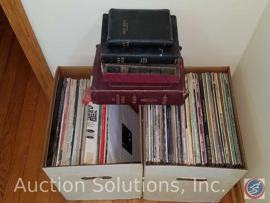 """Assorted 3 1/2 LP Records Incl. Titles Such As """"Little Toot"""", """"Barry Manilow: This One's For You"""","""