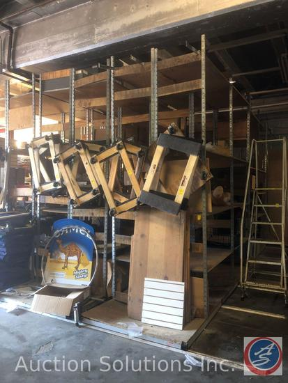 {{12x$BID}} PIPP Mobile Systems Moving Shelving on Rails w/ Tracks 2' x 10'x 8' {{CONTENTS NOT