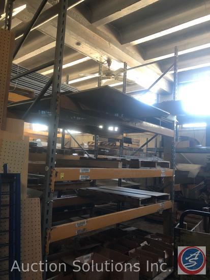 """Keystone Pallet Racking (2) 11'4"""" Uprights (6) 8.5' Rails {{CONTENTS NOT INCLUDED}}"""