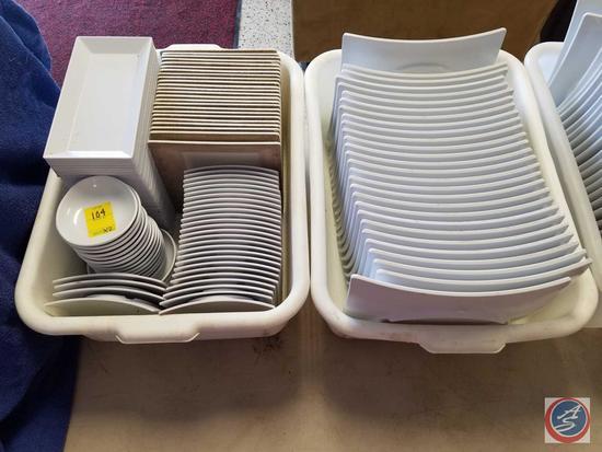 {{2X$BID}} (28) Thunder Group Plates, Various Shapes/Sizes of Elite Plates