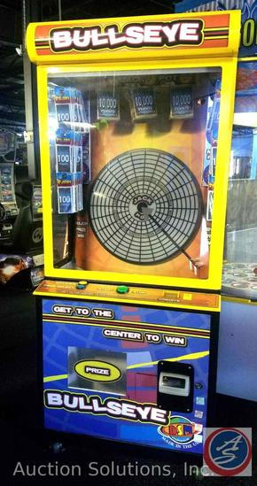 Bullseye Prize Arcade Game with Intercard Reader {{SOME GAMES MAY STILL HAVE COIN OP MECHANISMS