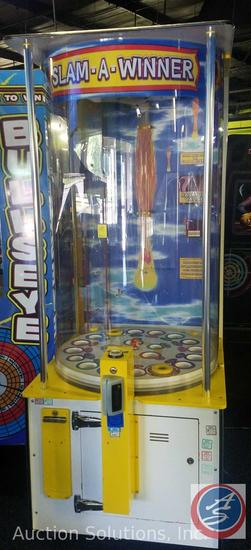 Slam Winner Arcade Game with Intercard Reader {{SOME GAMES MAY STILL HAVE COIN OP MECHANISMS