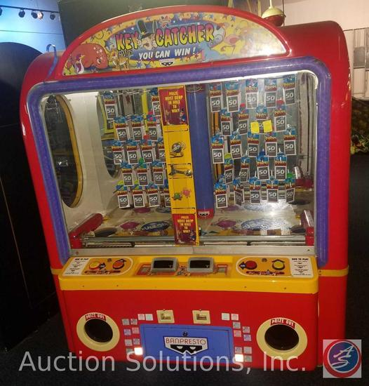 Key Catcher Arcade Prize Game with Intercard Reader Serial No. 7483900103; Model No. BKC04-003