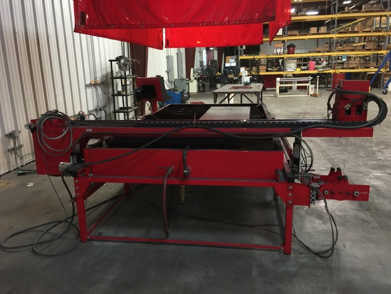 PLASMA TABLE - INDUSTRIAL EQUIP ONLINE AUCTION