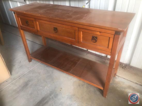 Sofa Table w/ One Drawer {{SLIGHTLY WOBBLY}}