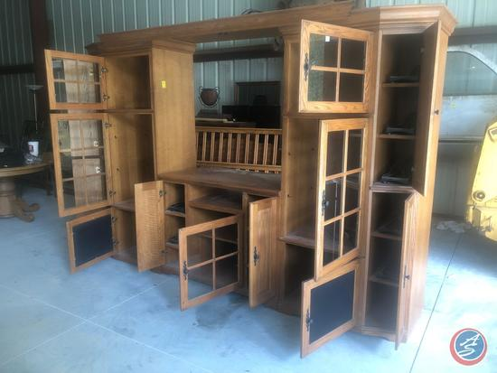 "Aspen Furniture Four Piece Entertainment Center 114"" x 24"" x 78"""