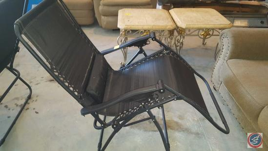 {{2x$BID}} (2) Zero Gravity Patio Chairs