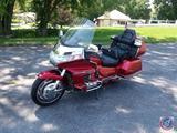 1998 Honda GL1500 Motorcycle, VIN # 1HFSC220XWA000637