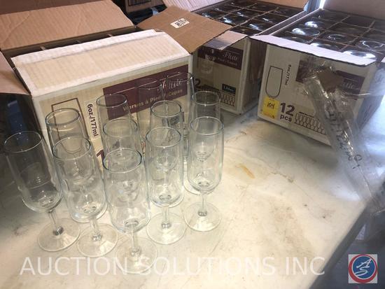 Flute Wine Glasses
