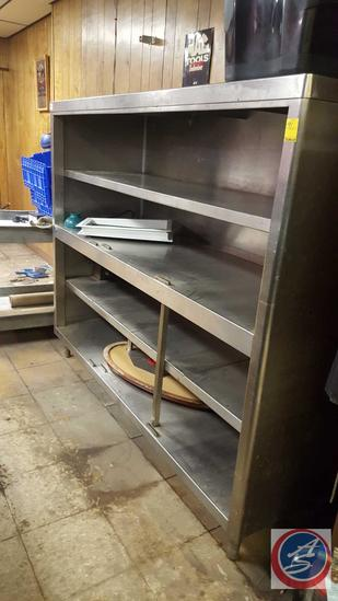 "Four Shelf Steel Shelving 71"" x 24"" 60"""