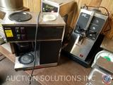 Bunn Coffee Maker, Curtis Gem 3 Satellite Server