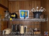 Condiment Dispenser Pumps, Sifter, Tea Dispenser {{NO BASE}}, Margarita Blender, Ice Cream Shake
