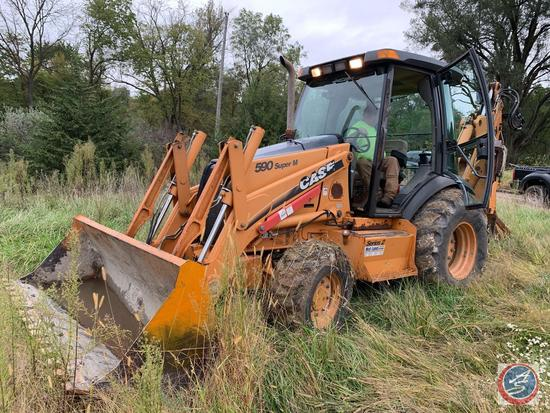 Make: Case Model: 590 Super M Series 2 Year: 2005 Serial #: N5C394112 Hours: 2938 Engine: 272 CI