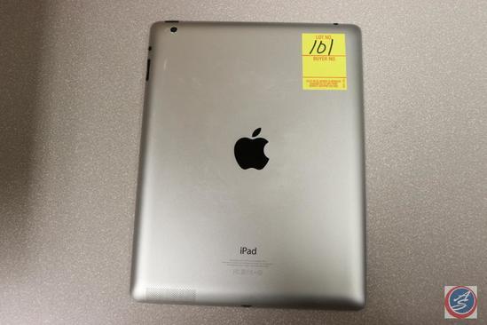 Apple iPad Model No. A145B Serial No. MD51LL/A PMPKCVXUF182 13 GB {{NO CHARGING CORD}}