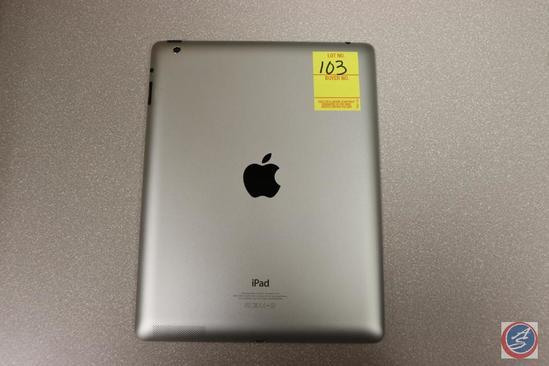 Apple iPad Model No. A1458 Serial No. MD51OLL/A DMPJM1XBF182 13 GB {{NO CHARGING CORD}}